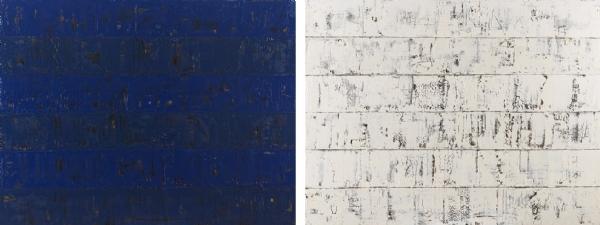 BlueBlanc Dual Paintings T.Yb 124x164cm 2012