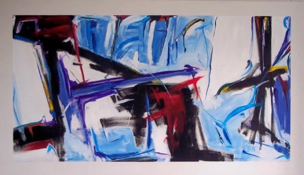 Isimsiz T. akrilik boya 150x200cm
