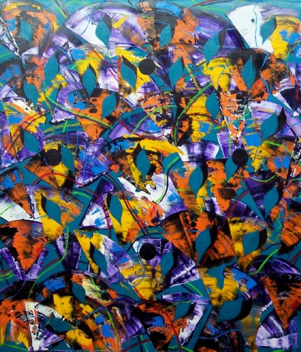 Isimsiz T.yb 140x130cm 2012